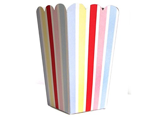 """10 Fröhliche Popcorn-Schachteln aus der Serie """"Colored Carnival"""""""
