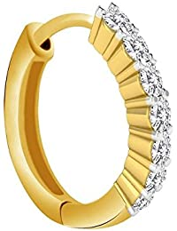 Peenzone 18K Gold Plated Nose Ring For Women
