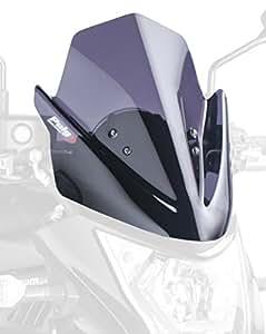 Puig 5997F pare-brise pour Kawasaki ER-6N 2012–2014, fumé foncé, Taille M