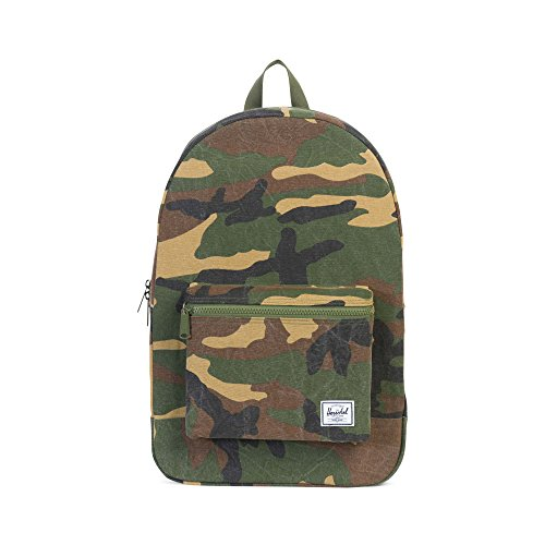 Herschel Packable Daypack Rucksack Oliv/braun, OneSize