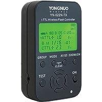 Yongnuo YN 622N TX LCD inalambrico I TTL - Flash controlador desencadenador para camara Nikon+WINGONEER difusor