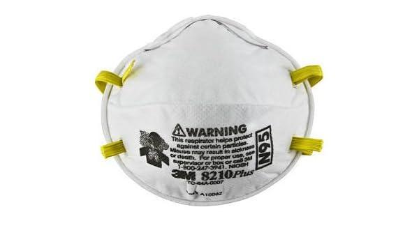 3m 160 N95 Respirator Pcs 3m Of 8-boxes 1-case By Masks 8210