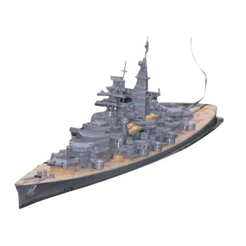 Seruna RC Ferngesteuertes Schlachtschiff Bismarck - 9