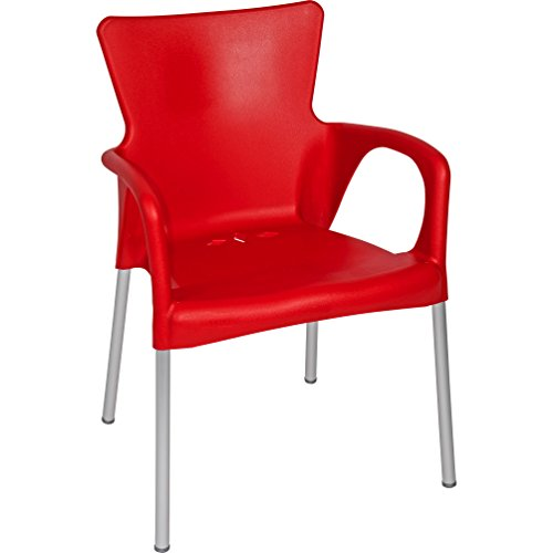 Lot chaise rouge