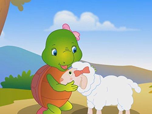 Mary Had a Little Lamb Fleece-turtle