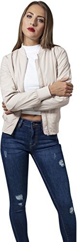 Urban Classics Ladies Light Bomber Jacket, Giacca Donna Sabbia
