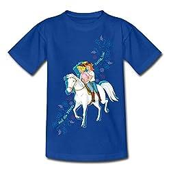 Bibi Und Tina Auf Die Pferde Fertig Los Teenager T-Shirt, 134/146 (9-11 Jahre), Royalblau