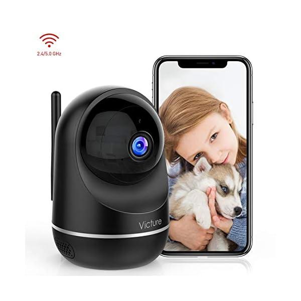 Victure-Dual-Band-24G-5G-Telecamera-WIFI-FHD-1080P-Telecamera-di-Sorveglianza-Videocamera-IP-Interno-con-Visione-Notturna-Audio-Bidirezionale-Notifiche-in-Tempo-Reale-del-Rilevamento-del-Movimento
