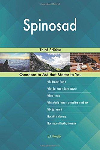 Spinosad; Third Edition