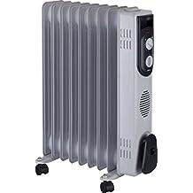 Jata R109 Radiador de Aceite con 9 Elementos caloríficos, 2000 W, ...