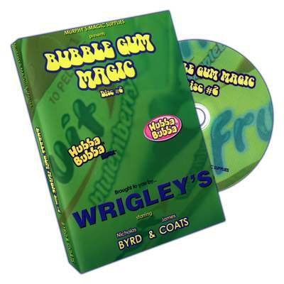 Bubble Gum Magic by James Coats and Nicholas Byrd - Volume 2 - DVD - DVD and Didactis - Tours et magie