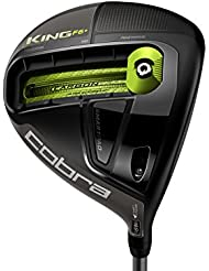 Cobra King F6 Driver Turbulence/Green, LH, regular, Long Distance Wood, forgiving, Adjustable, Lightweight, Perfect Launch Angle for máx Distance and Control