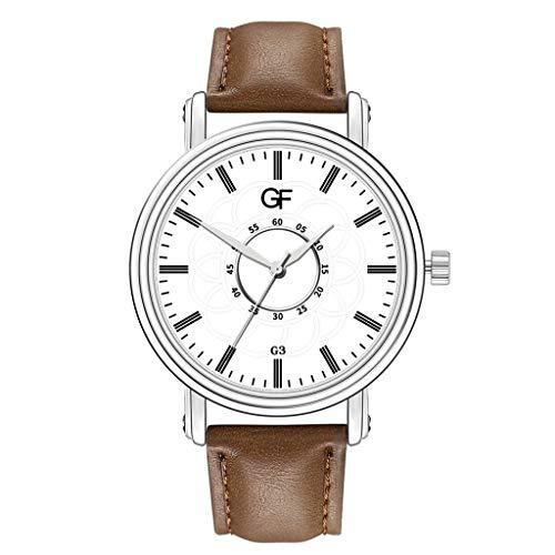 MINGXINGDE Damen Armband Quarzuhr Uhren Sportuhr modisch für Damen Classic Mode Klassisch Minimalistisches Design Leder-Uhr - Frauen Uhr Burberry