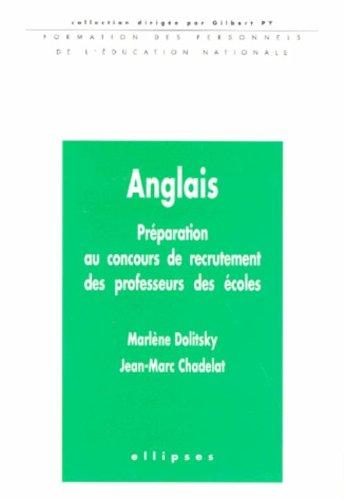 Anglais : Préparation au concours de recrutement des professeurs des écoles