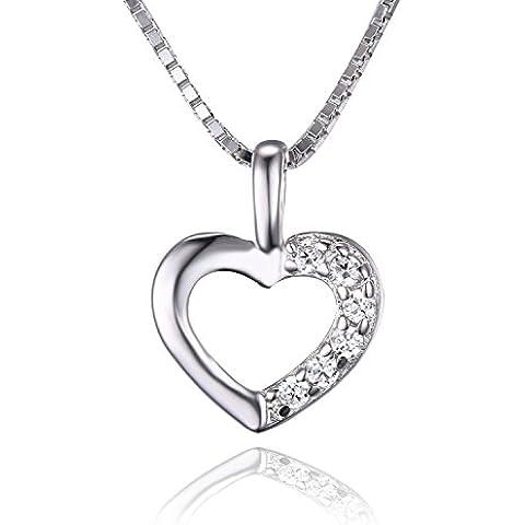 JewelryPalace Donna Ragazze Gioiello Bella 0.06ct Cubic