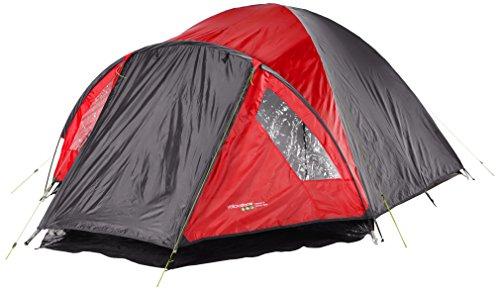 Randoneo Ascent Tente de 4 Personnes Rouge
