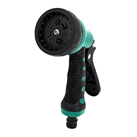 sourcingmap® Garden 7 Spray Patterns Hose Nozzle Sprinkler Head Water Sprayer
