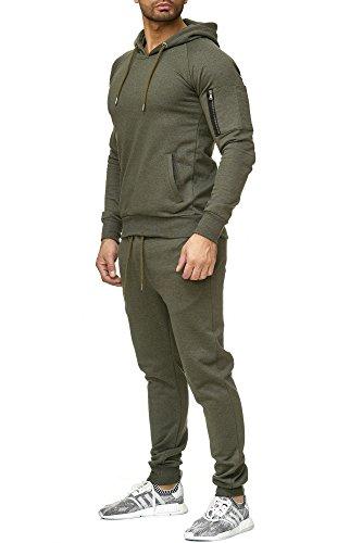 Hose neuwertig braun Gr M Jogging Italienischer Trainingsanzug Jacke