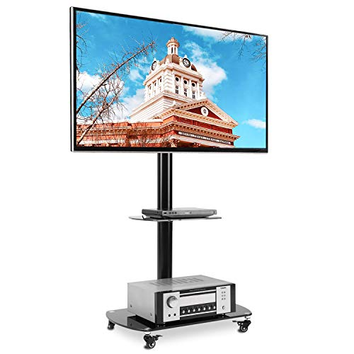 RFIVER Soporte TV con Ruedas de Suelo para televisiones de 32 a 65 Pulgadas TF8001