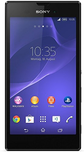 Image of Sony Xperia Style Smartphone (13,5 cm (5,3 Zoll), 1,4GHz, 8 Megapixel Kamera, Touchscreen, micro-USB 2.0, Android 4.4) schwarz