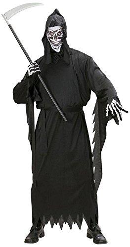 Shoperama Hombre Disfraz Parca Wid Grim Reaper Muerte