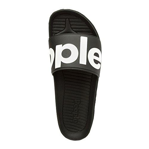 People Footwear The Lennon Slide Synthetik Sandale Really Black