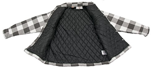 DICKIES Holzfällerhemd Thermohemd PORTLAND Weiß