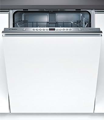 Bosch SMV53L60EU Entièrement intégré 12places A++ Acier inoxydable, Blanc lave-vaisselle - lave-vaisselles (Entièrement intégré, A, A++, Acier inoxydable, Blanc, boutons, Auto 45-65 ºC, Intensif, Pré-lavage, Turbo)