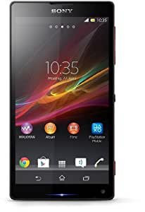 Sony Xperia ZL LTE Smartphone (12,7 cm (5 Zoll) Touchscreen, Quad-Core, 1,5GHz, 2GB RAM, 16GB, 13 Megapixel Kamera, Android 4.1) rot