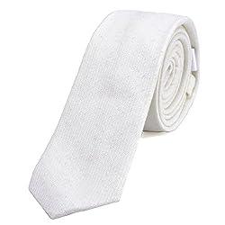 Bella cravatta stretta da uomo in numerosi colori e modelli. Le bellissime cravatte da uomo del marchio DonDon affascinano per la lavorazione di alta qualità, i bellissimi colori, il grande assortimento e la loro varietà di modelli e le molte variant...