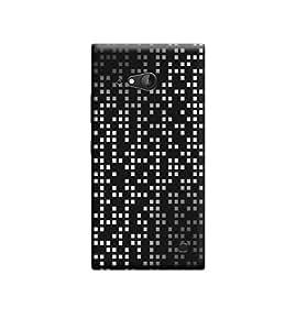 Ebby Premium Designer Back Cover for Nokia Lumia 730 (Designer Case)