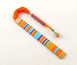 Orange Thread Bookmark