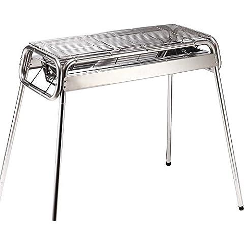 Barbecue grill barbecue a carbonella di spessore in acciaio inox barbecue portatile all'aperto casa Grill - Portable Grill All'aperto
