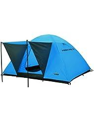 High Peak Texel 4 Tente dôme Bleu/Gris Foncé 240 x 210 x 130 cm