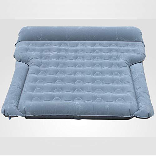 LH Auto Inflatable Luftbett Matratze Rückensitz Extended Sleep Rest Bed Couch Kissen Outdoor für SUVs und Sedans und Trucks,Gray