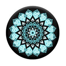 Preisvergleich Produktbild PopSockets: Expanding Stand and Grip for Smartphones and Tablets - Peace Mandala Sky