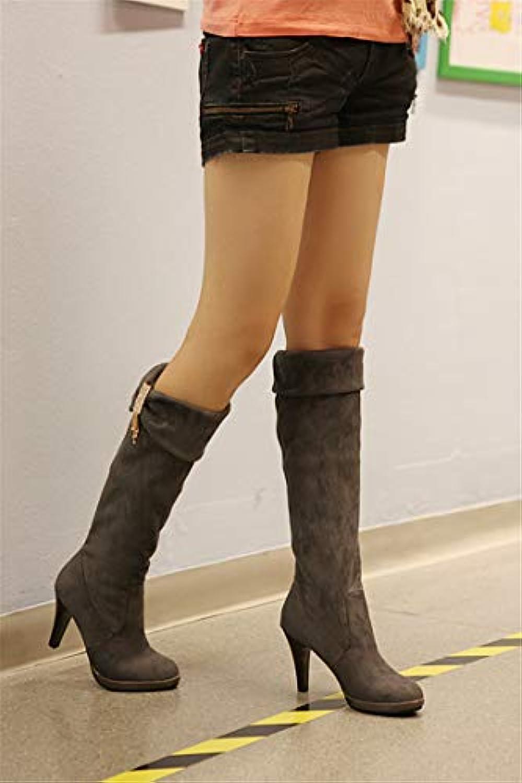 HOESCZS Wouomo scarpe Wouomo stivali Rhinestones Stretch Velvet Velvet Velvet High stivali Wouomo stivali stivali stivali High stivali... | Qualità  edfe30
