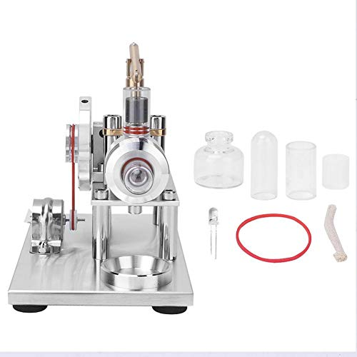Modell eines Stirlingmotors, Miniatur-Modell eines Heißluftstromerzeugers für physikalische Kits für Schulunterrichtsgeräte