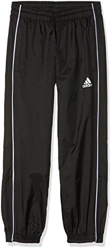 adidas Kinder Core 18 Hose, Black/White, 164