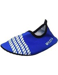 Panegy - Zapatos Agua de Natación Infantil para Niños Niñas Slip on Suave  Zapatillas Deportivos Acuático para… 3067b962515