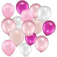 100 Stücke 12 Zoll Rosa Reihen Ballone für Hochzeitsfest Dekorationen, 5 Farben