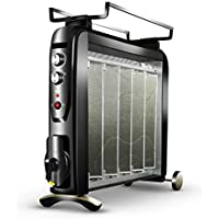 CARWORD Calentador 2500W Aprobado con Sobrecalentamiento Y La Protección De La Inclinación Ajustes De Calor Y
