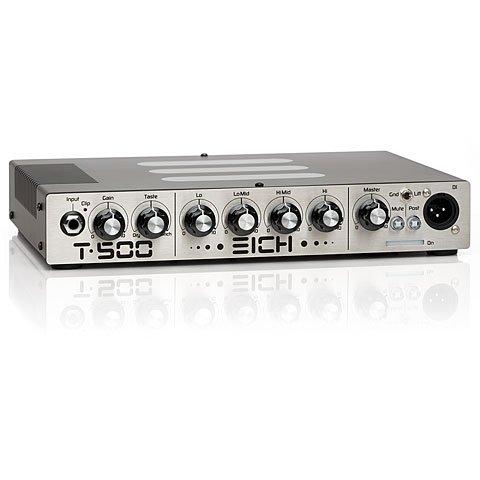 Eich Amps T-500 · Topteil E-Bass