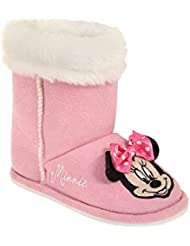 Disney Minnie Fille Chaussons - fushia