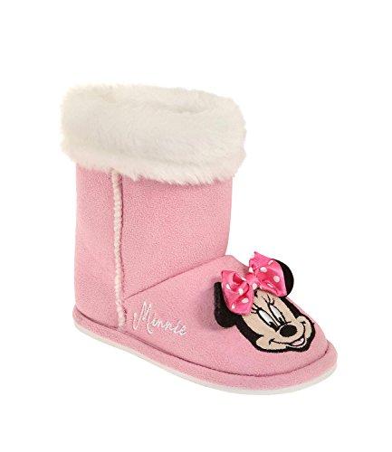 Disney minnie ragazze pantofole - fucsia - 30