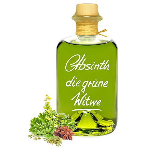Absinth Die Grüne Witwe 0,5L Testurteil SEHR GUT(1,4) Maximal erlaubter Thujongehalt 35mg/L 55% Vol