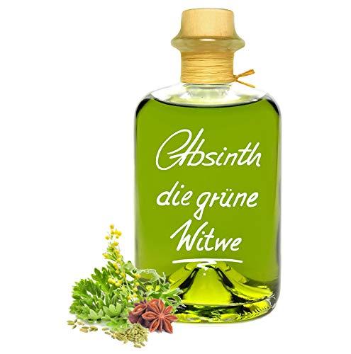 Absinth Die Grüne Witwe 0,5L Testurteil SEHR GUT(1,4) Maximal erlaubter Thujongehalt 35mg/L 55{1bc53a992bd839e9b13c38ecae86564d6adce1da2ee0fdf76d438222adc9bb71} Vol