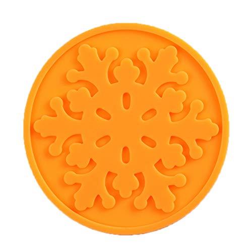 MAYOGO Mode Silikon Wärmedämmung Kaffee Teeblätter Untersetzer Tasse Becher Matte Pad Coaster