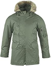 Mil-Tec N3B Flight Jacket Olive