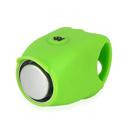 Hunpta@ Fahrradklingel Laut, 120 db Elektrische Lauter, Design Fahrradglocke Radfahren Fahrrad für Alle Fahrrad (Grün)